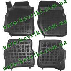 Резиновые коврики в салон Nissan Almera N16 2000-2006 (Rezaw-Plast)