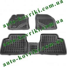 Резиновые коврики в салон Toyota Avensis III 2009-2018 (T27) (Rezaw-Plast)