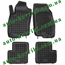 Резиновые коврики в салон Fiat Grande Punto III 2005-2018 (Type 199) (Rezaw-Plast)