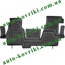 Резиновые коврики в салон Mercedes Sprinter 2000-2006 (Rezaw-Plast)