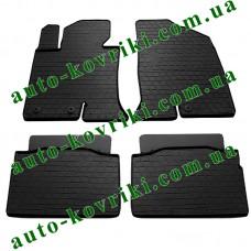 Резиновые коврики в салон Hyundai Sonata 2009- (Stingray)