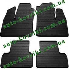 Резиновые коврики в салон Fiat Doblo I 2000-2009 (Stingray)