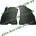 Резиновые коврики в салон Fiat Doblo 2009- (Stingray) 2-передние