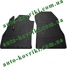 Резиновые коврики в салон Fiat Fiorino 2008- (2 передние) (Stingray)