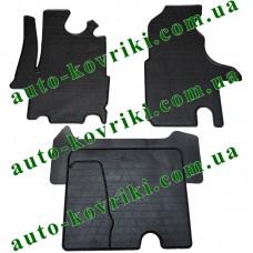 Резиновые коврики в салон Opel Movano 1998-2010 (Stingray)