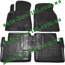 Резиновые коврики в салон Chery Tiggo 2013- (T21) (Avto-Gumm)