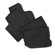 Резиновые коврики в салон Hyundai Terracan 2001-2007 (Doma)