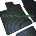 Резиновые коврики в салон Nissan Quashqai 2007-2013 (FroGum)