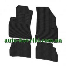 Резиновые коврики в салон Fiat Doblo 2009- (FroGum)