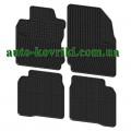 Резиновые коврики в салон Nissan Note 2013- (FroGum)