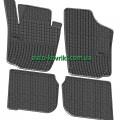 Резиновые коврики в салон Skoda Rapid 2012- (FroGum)