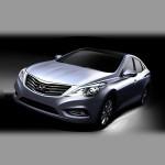Автомобильные коврики для Hyundai Grandeur 2011-