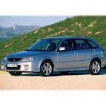 Автомобильные коврики для Mazda 323 1998 - 2003