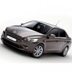 Автомобильные коврики для Peugeot 301 2013-