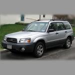 Автомобильные коврики для Subaru Forester SG 2002-2007