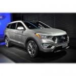 Автомобильные коврики для Hyundai Santa Fe III 2013-2017
