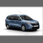 Автомобильные коврики для Renault Lodgy 2013-
