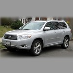 Автомобильные коврики для Toyota Highlander 2008-2013 / 2014-