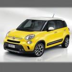Автомобильные коврики для Fiat 500L 2012-