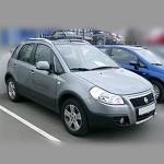 Автомобильные коврики для Fiat Sedici 2006-