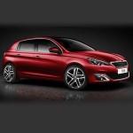 Автомобильные коврики для Peugeot 308 2014-