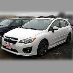 Автомобильные коврики для Subaru Impreza 2012-