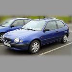 Автомобильные коврики для Toyota Corolla VIII 1995-2002