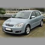 Автомобильные коврики для Toyota Corolla IX 2001-2006