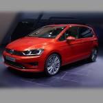Автомобильные коврики для Volkswagen Golf Sportsvan 2014-