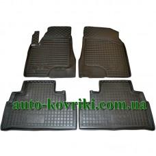 Резиновые коврики в салон BYD S6 (Avto-Gumm)