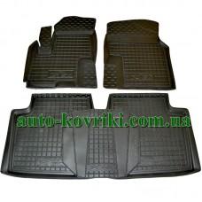 Резиновые коврики в салон Lifan X60 (Avto-Gumm)