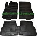 Резиновые коврики в салон Chevrolet Aveo 2011-2021 (T300) (Avto-Gumm)
