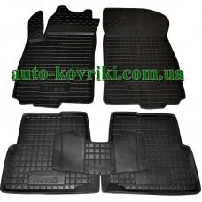 Резиновые коврики в салон Chevrolet Aveo 2011- (Avto-Gumm)