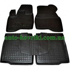 Резиновые коврики в салон Ford Explorer 5 2010- (Avto-Gumm)