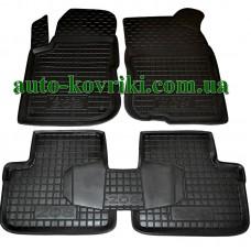 Резиновые коврики в салон Peugeot 208 2012- (Avto-Gumm)