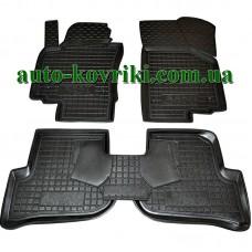 Резиновые коврики в салон Seat Altea 2009- / Altea XL 2006- (Avto-Gumm)