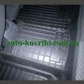 Резиновые коврики в салон Renault Logan 2004-2012 (Avto-Gumm)