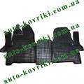 Резиновые коврики в салон Ford Transit 2013- (1+2) (Avto-Gumm)