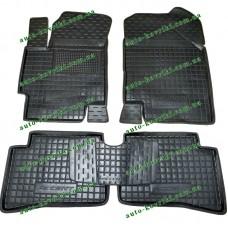 Резиновые коврики в салон Hyundai Accent III 2006-2010 (Avto-Gumm)