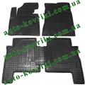 Резиновые коврики в салон Hyundai Santa Fe 2010-2012 (5-мест) (Avto-Gumm)