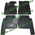 Резиновые коврики в салон Kia Sorento 2009-2012 (Avto-Gumm)