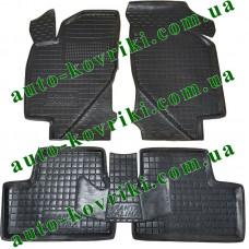 Резиновые коврики в салон Lada Kalina 2008- (Avto-Gumm)