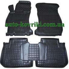 Резиновые коврики в салон Subaru Forester 2013- (Avto-Gumm)