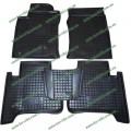 Резиновые коврики в салон Toyota Land Cruiser Prado 120 (Avto-Gumm)