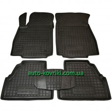 Резиновые коврики в салон Chevrolet Tracker 2013- (Avto-Gumm)