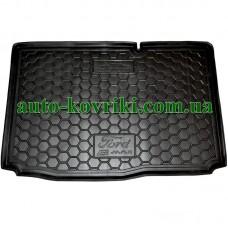 Коврик багажника резиновый Ford B-Max 2013- (Нижняя полка) (Avto-Gumm)