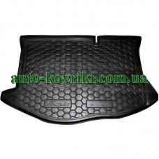 Коврик багажника резиновый Ford Fiesta 2011- (Avto-Gumm)