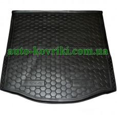 Коврик багажника резиновый Ford Focus III 2011-2018 (седан) с докаткой (Avto-Gumm)