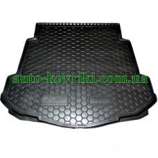 Коврик багажника резиновый Ford Mondeo lV 2007- (седан) с докаткой (Avto-Gumm)