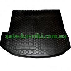 Коврик багажника резиновый Hyundai Santa-Fe Grand 2014- (7мест) (TOP) (Avto-Gumm)